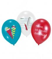 """Luftballon-Set """"Mein Schulstart"""" - 6-teilig"""