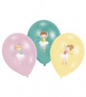 "Luftballon-Set ""Kleine Tänzerin"" - 6-teilig"