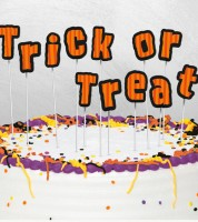 "Torten-Piekser ""Trick or Treat"""