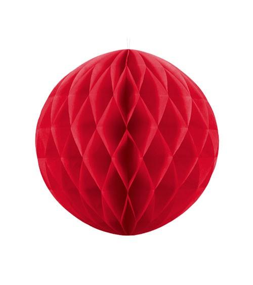Wabenball - 20 cm - rot