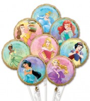 "Folienballon-Set ""Disney Princess"" - 8-teilig"