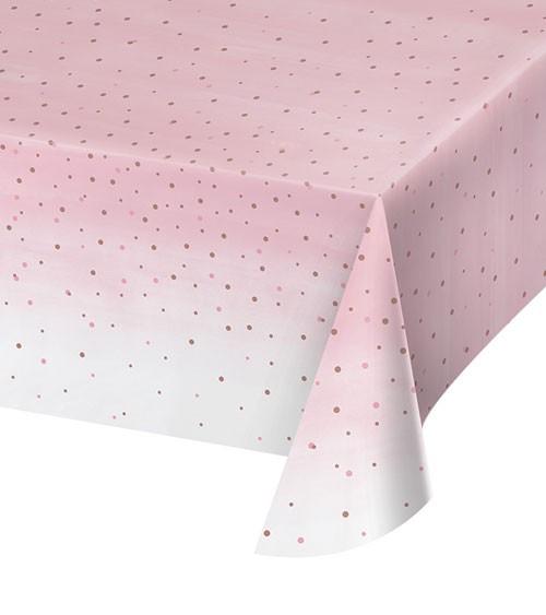 """Kunststoff-Tischdecke """"Rosé All Day"""" - 137 x 259 cm"""