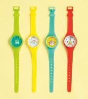 Spielzeug-Uhren mit Geduldsspiel - 4 Stück