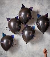 """DIY-Luftballon-Set """"Katze"""" - 5 Stück"""