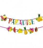 """Tropische Girlanden """"Paradise"""" - 1,5 m - zwei Stück"""