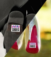 "Schuhsticker ""DANCING SHOES"" - 2-teilig"