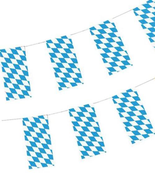 """Wimpelkette """"Bayrisch Blau"""" - 10 m"""