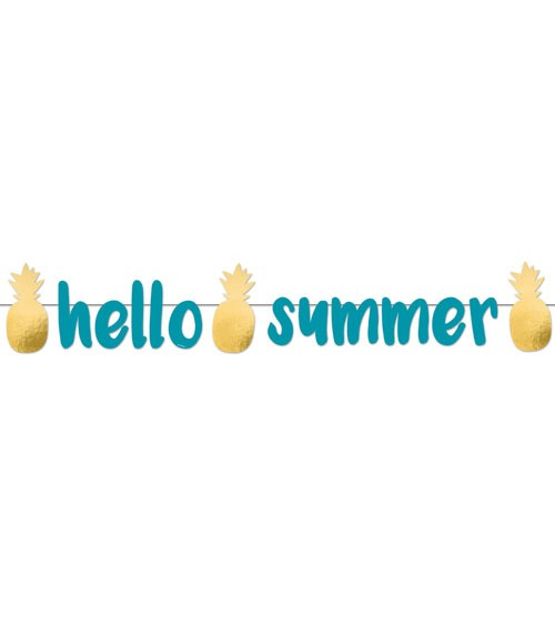 "Hello Summer-Girlande ""Pineapple Vibes"" - 125 cm"