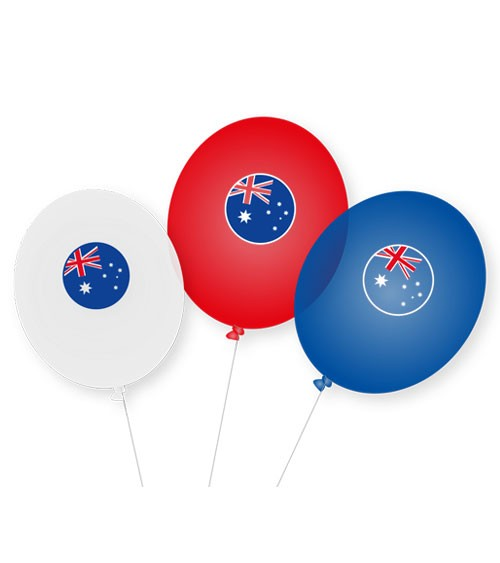 """Luftballons """"Australien"""" - 9 Stück"""