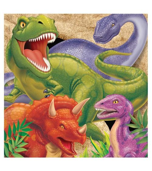 """Servietten """"Dinosaurier"""" - 16 Stück"""