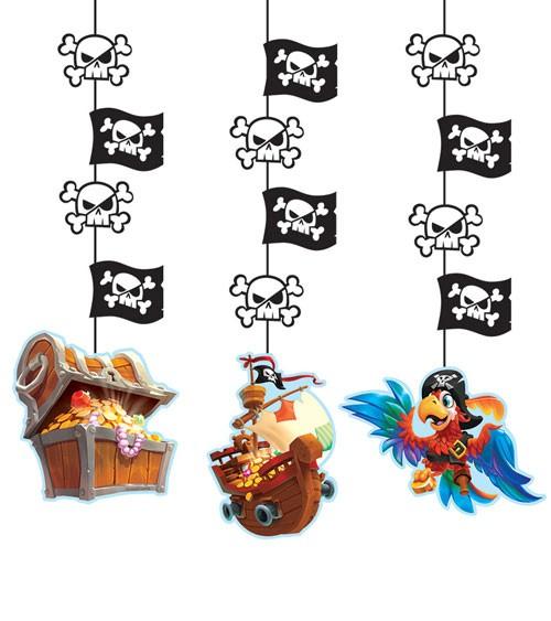 """3er-Motivgirlande """"Piratenschatz"""""""