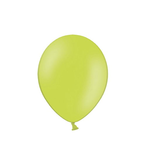 Mini-Luftballons - limegreen - 12 cm - 100 Stück
