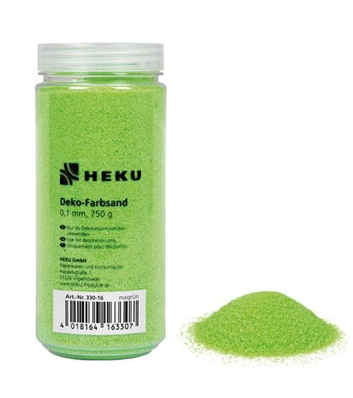 Deko-Farbsand - 750 g - maigrün