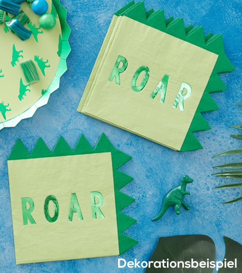 """Servietten """"Dinosaurier Party"""" - Roar - 16 Stück"""