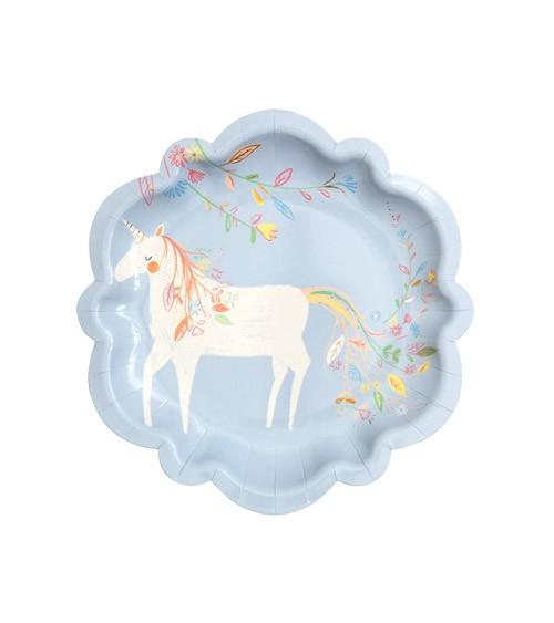 """Kleine Pappteller """"Magical Princess"""" - 8 Stück"""