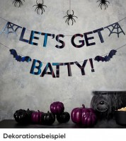 "DIY Girlanden-Set ""Lets get Batty"" - 2,5 m - 2-teilig"