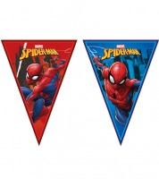 "Wimpelgirlande ""Spiderman - Team Up"" - 2,3 m"