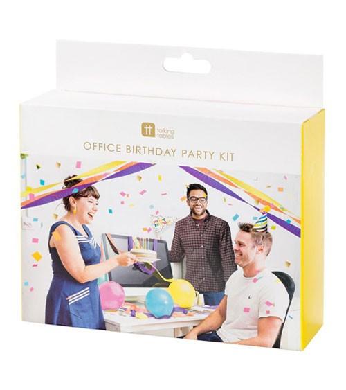 "Büro-Geburtstags-Party-Set ""Birthday Brights"" - 14-teilig"