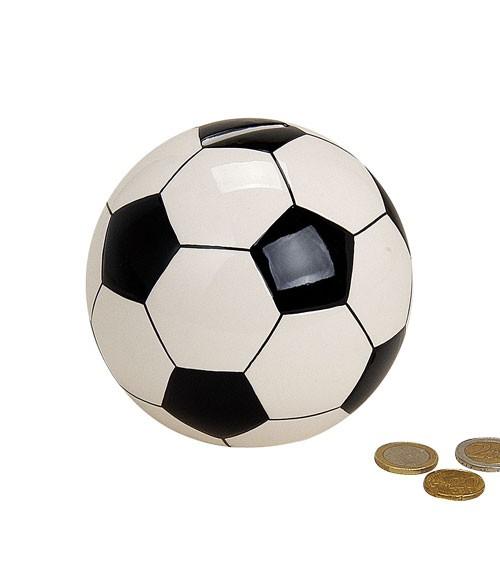 "Spardose aus Keramik ""Fußball"" - 13 cm"