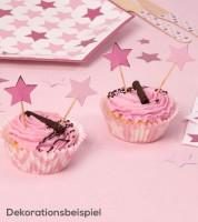 """Cupcake-Picks """"Little Star Pink"""" - 20 Stück"""
