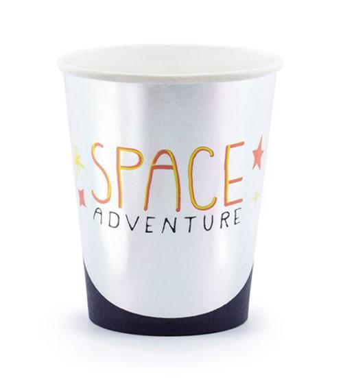 "Pappbecher ""Space Party"" - 6 Stück"