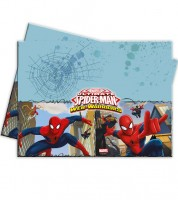 "Kunststoff-Tischdecke ""Ultimate Spiderman - Web Warriors"" - 120 x 180 cm"