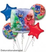 "Folienballon-Set ""PJ Masks"" - 5-teilig"