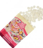 Funcakes Deco-Melts - extremweiß - 250 g