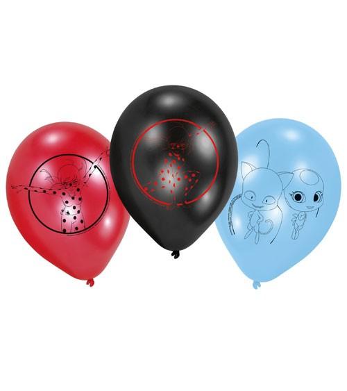 """Luftballon-Set """"Miraculous"""" - 6-teilig"""