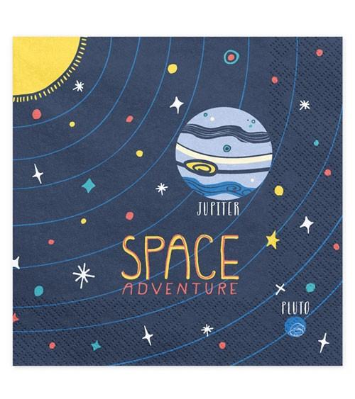 """Servietten """"Space Adventure"""" - 20 Stück"""
