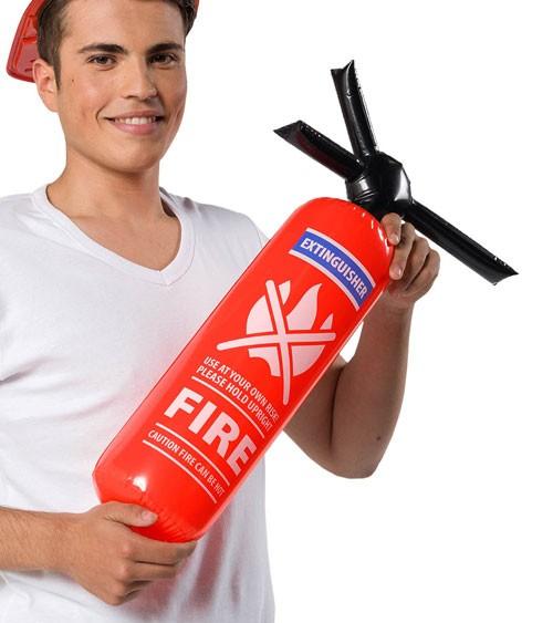 Aufblasbarer Feuerlöscher