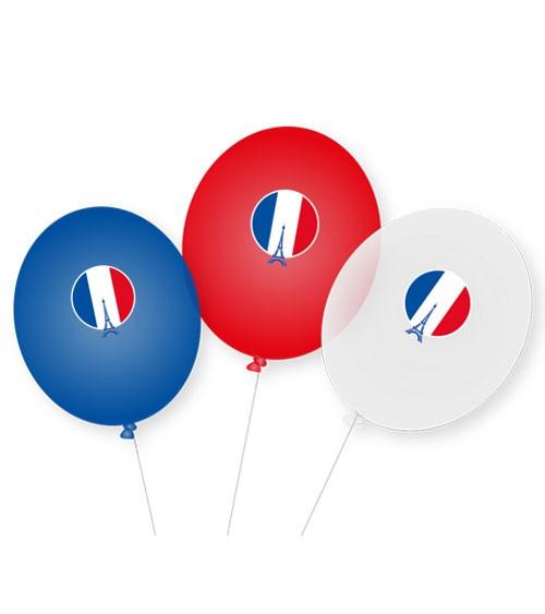 "Luftballons ""Frankreich"" - 9 Stück"