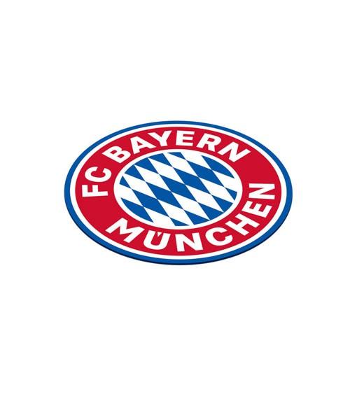 """Untersetzer aus Papier """"FC Bayern München"""" - 12 Stück"""