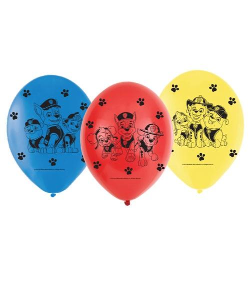 """Luftballon-Set """"Paw Patrol - Helfer auf vier Pfoten"""" - 6 Stück"""