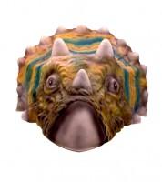 """Kunststoff-Maske """"Triceratops"""""""