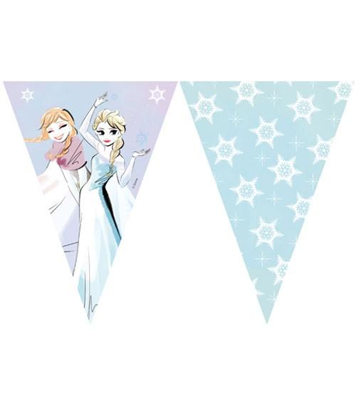"""Wimpelgirlande """"Frozen Sparkle"""" - 2,30 m"""