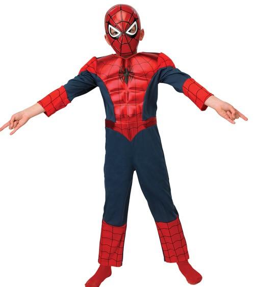 """Metallic Deluxe-Kinderkostüm """"Ultimate Spider-Man"""""""