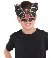 Fledermaus-Maske aus Filz mit Glitzer