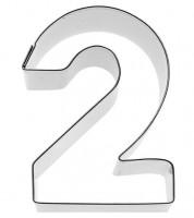 """Ausstechform Zahl """"2"""""""