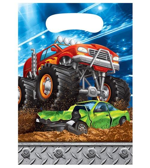 """Mitgebsel-Tüten """"Monster Truck Show"""" - 8 Stück"""
