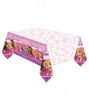 """Kunststoff-Tischdecke """"Paw Patrol Pink"""" - 137 x 243 cm"""