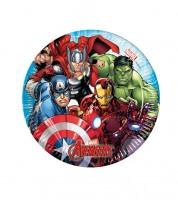 "Kleine Pappteller  ""Mighty Avengers"" - 8 Stück"