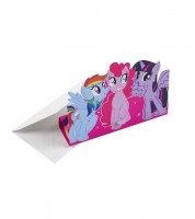 """Einladungskarten """"My Little Pony - Magie"""" - 8 Stück"""