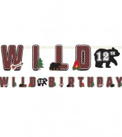 "Individualisierbare Girlande ""Wild One"" - 3 m"