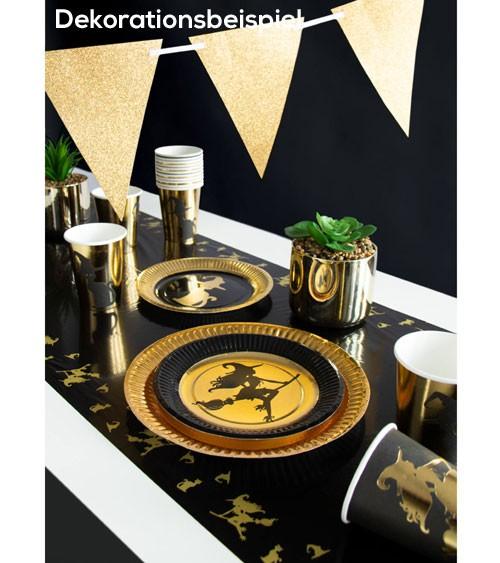 """Tischläufer """"Goldene Hexe"""" - 40 x 180 cm"""