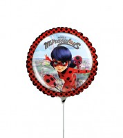 "Mini-Folienballon ""Miraculous"" - 23 cm"