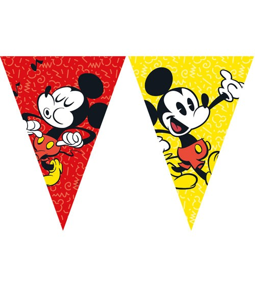 """Wimpelgirlande """"Mickey Mouse Comic"""" - 2,3 m"""