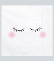 "Servietten ""Dreamy Eyes"" - 20 Stück"
