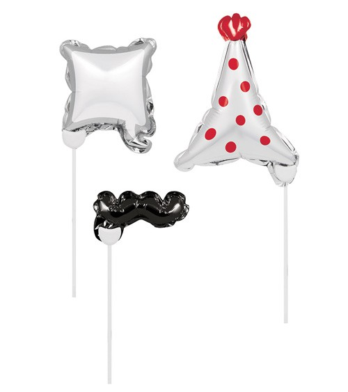 "Photobooth-Folienballons ""Party "" - 3 Stück"