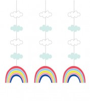 "3er-Motivgirlande ""Over the Rainbow"""